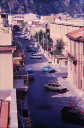 Immagini del corso V. Emanuele II a metà degli anni 80
