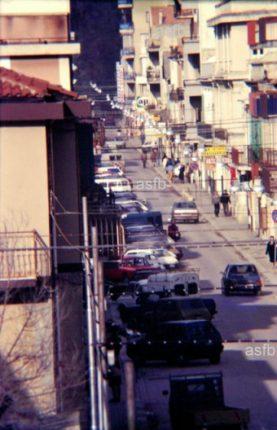 Due istantanee del corso Vittorio Emanuele II  anni 80