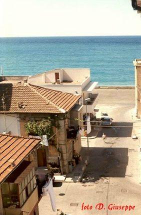 Via Genova nel 1989, due vedute dall'alto di G. Dominici