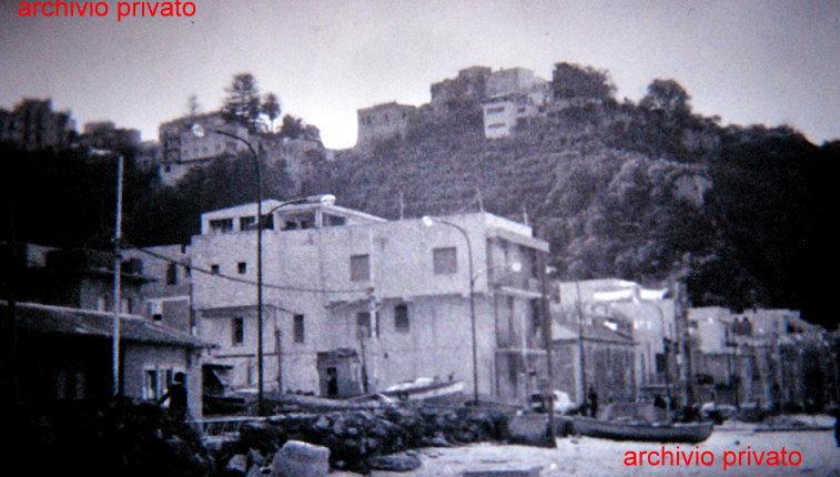 Marinella  Scorcio di via delle rimembranze negli anni 70