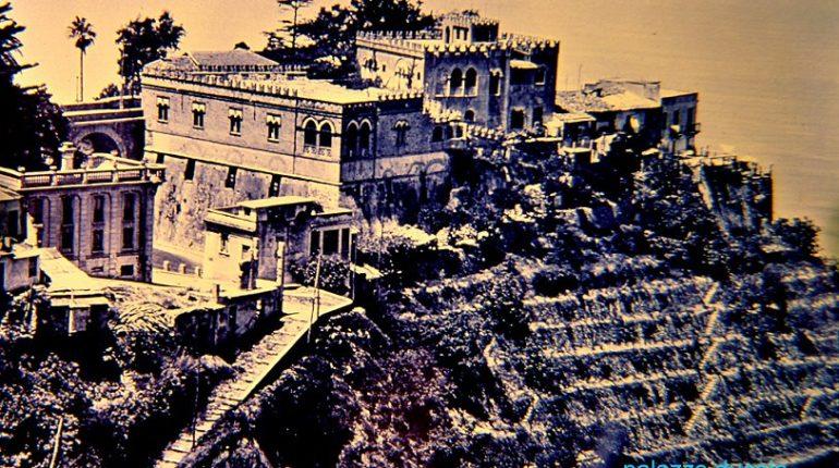 Una vecchia immagine del cuore del centro storico cittadino vista dall'alto
