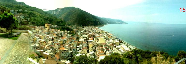 Panoramica cittadina dal Belvedere  15 agosto 2013