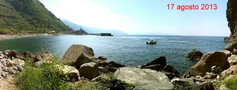 Panoramica dalla località Gramà  17 agosto 2013