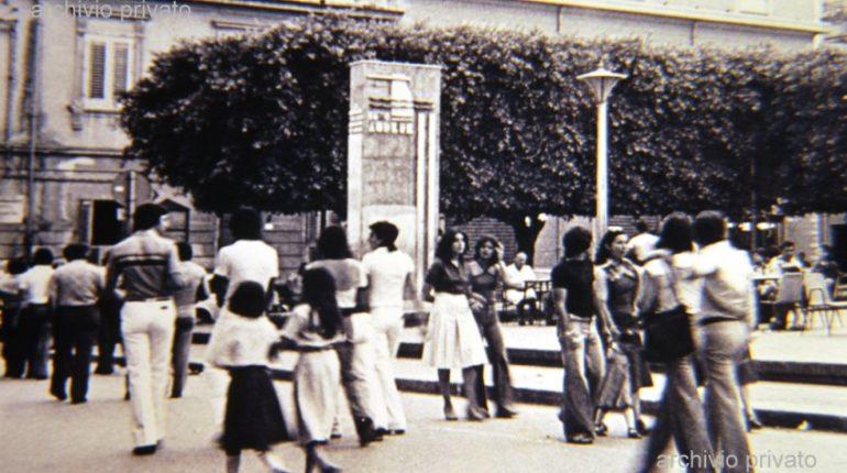 Una delle caratteristiche principali di Bagnara  La passeggiata sul corso V. Emanuele II  foto fine anni 70