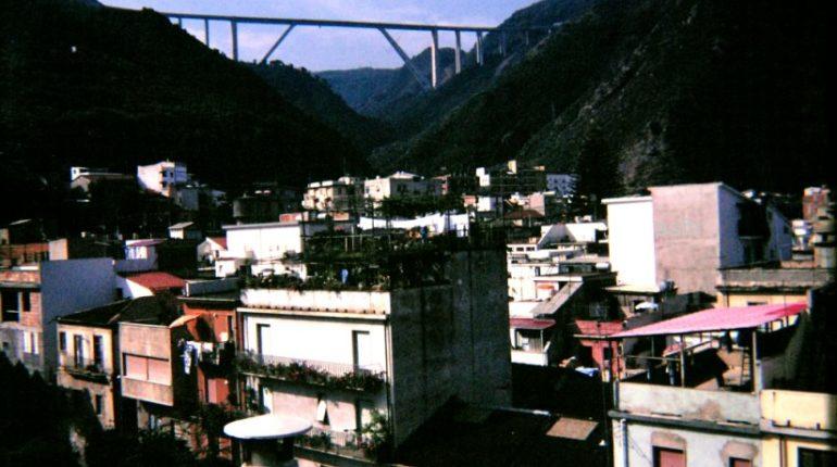 Panorama cittadino da una terrazza sul corso V. Emanuele II  Metà anni 80