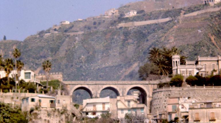 Il ponte Caravilla a metà anni 80
