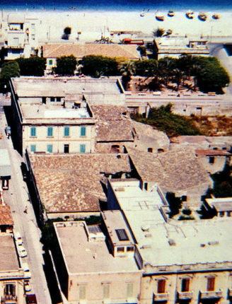 La Piazzetta vista dalla Sirena - anni 60 -  Piazza Marconi quando ancora non era circondata dal cemento
