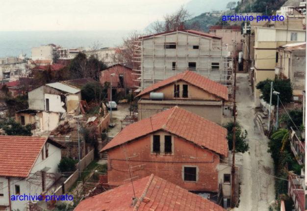 Veduta del rione Milano del 1993