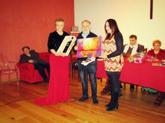 """Rocco Nassi   ha vinto il concorso poetico """"Il Saggio – Premio San Valentino""""   che si è svolto a Atripalda (AV) il 16 febbraio 2015  con la poesia  Voliva mi sugnu!"""