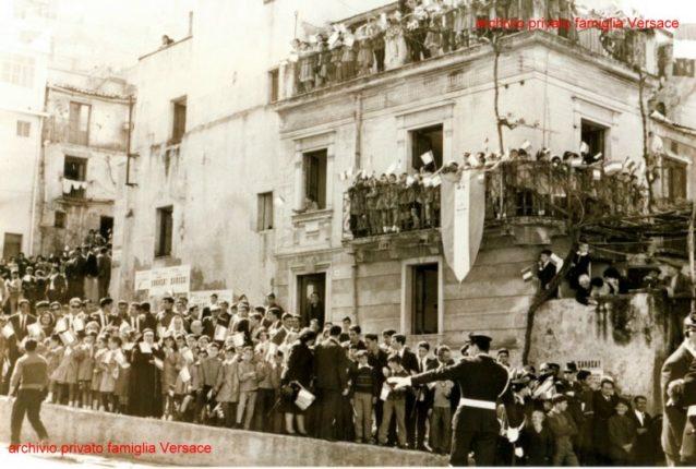 20 aprile 1966  Visita del presidente della repubblica Saragat a Bagnara