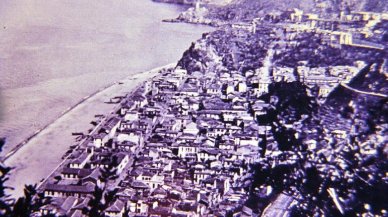 Panorama da Cucuzzo  Particolare di una cartolina ani 40