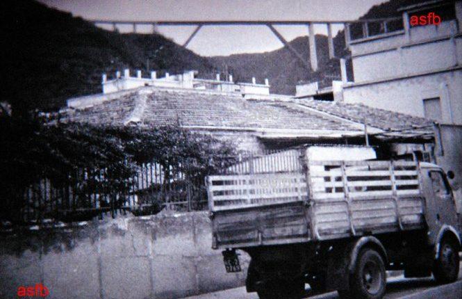 Il viale Turati nei pressi dell' Hotel Victoria - veduta anni 70