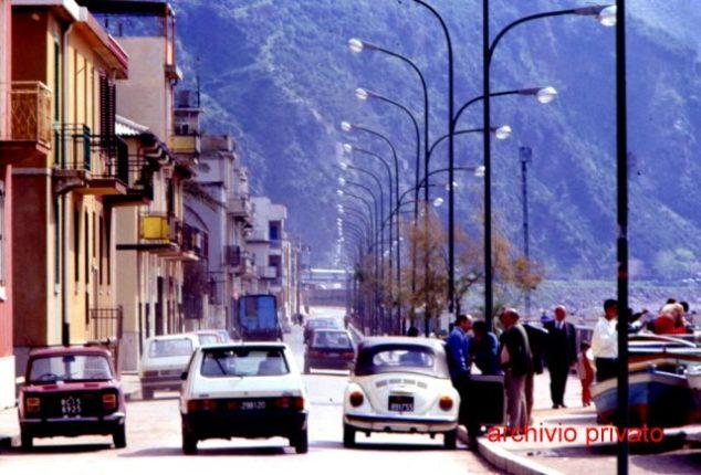 Bagnara seconda metà degli anni 80  Viale Filippo Turati (volgarmente chiamato via marina)