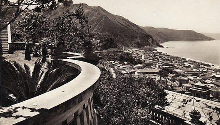 La bella bagnara  Cartolina anni 50  omaggio di Francesco Saletta