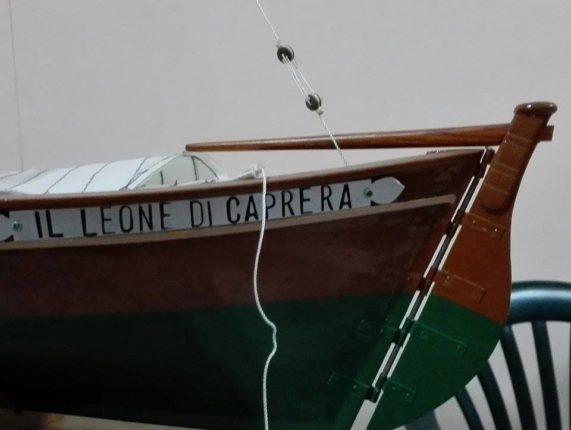 Il maestro Francesco Zoccali  sta ultimano la sua ultima opera: la riproduzione in miniatura   del LEONE DI CAPRERA