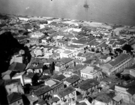 Vista dall'alto alla fine degli anni 30
