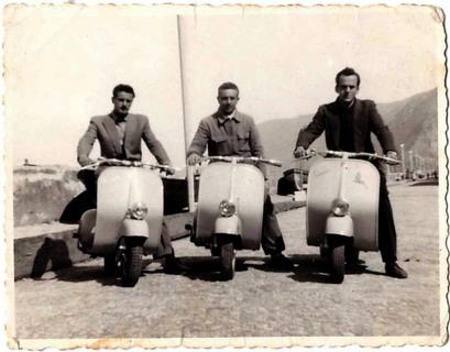 Viale Filippo Turati anni 50  foto di proprietà del sig. Carmelo Antonio Lopresto