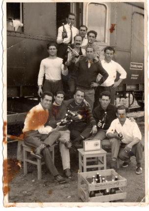 Gruppo di Bagnaroti in Germania negli anni 50