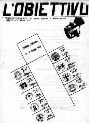 Bagnara Calabra  elezioni comunali del 1978  voti, eletti e curiosità all'apertura delle urne  dati tratti dal  periodico l'obiettivo del maggio 1978