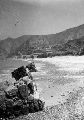spiaggia bagnara anni 50