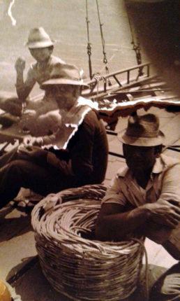 Omaggio ad uno dei più bravi (lanzaturi) fiocinatori di pescespada  Iannì Giuseppe detto Palumbina