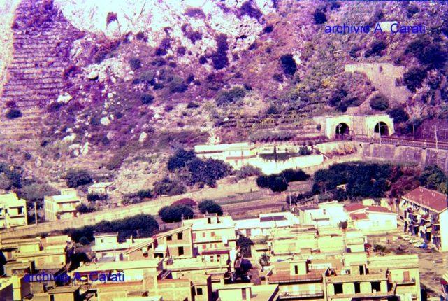 Luglio 1988  La parte alta del rione Melarosa a Marinella  foto di A. Carati