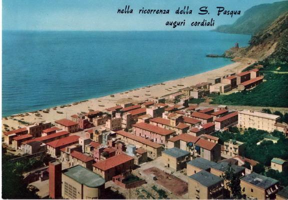 Il rione Marinella negli anni 60