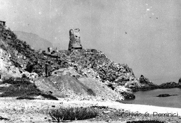 La torre aragonese anni 50