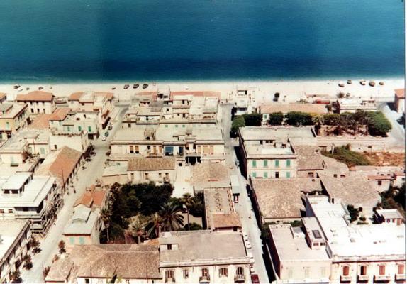 il centro cittadino nei primi anni 70