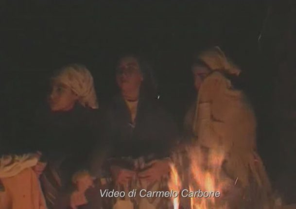 pellegrina bagnara presepe vivente 2005 carbone