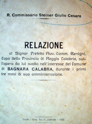 Bagnara 1925
