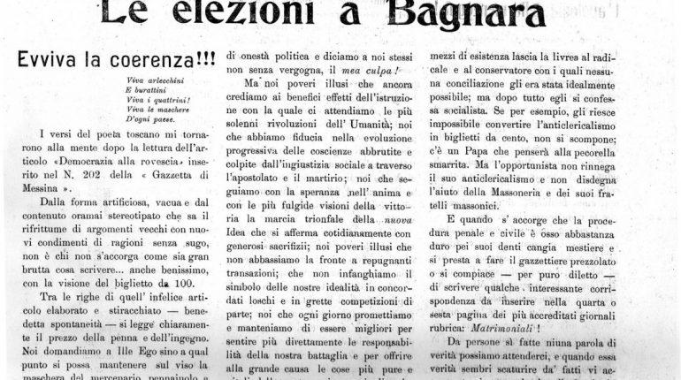 Bagnara elezioni 1914 a