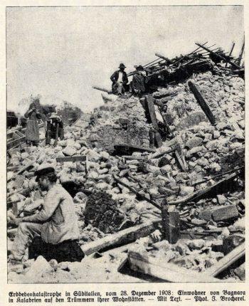 giornale tedesco 1098 terremoto bagnara