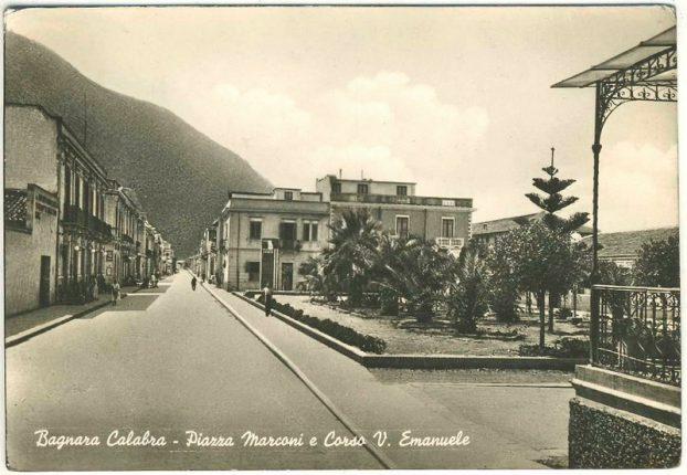 BAGNARA piazza marconi e corso vittorio emanuele II
