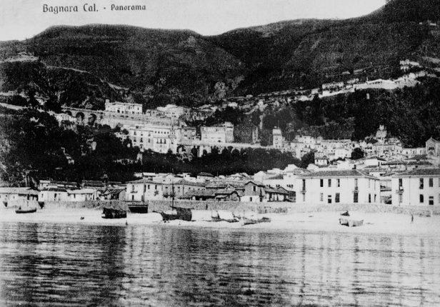 bagnara anni 20 veduta dal mare