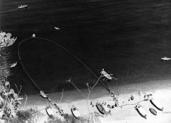 sciabbica a bagnara anni 60