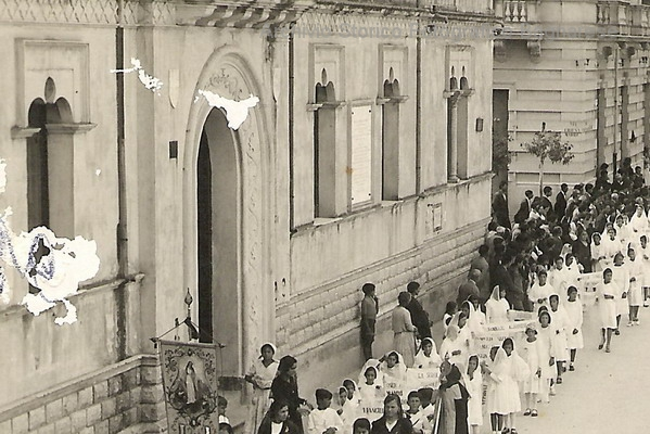 vecchio municipio e la facciata