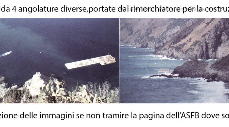 costruzione del porto di bagnara