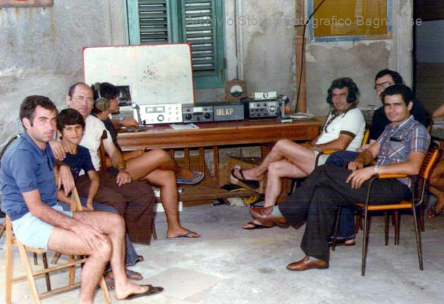 radioamatori bagnara anni 80