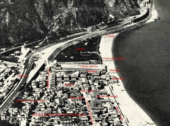 rione Valletta fine anni 50 Bagnara Calabra