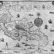 calabria prima carta geografica
