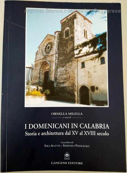 I domenicani a Bagnara nel libro di Ornella Milella I domenicani in Calabria